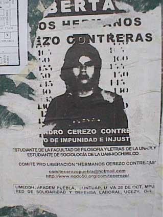 ACCIÓN URGENTE AMENAZA DE MUERTE COMITÉ CEREZO