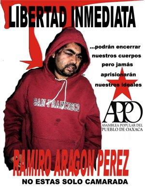 LIBERTAD PARA RAMIRO ARAGÓN PÉREZ