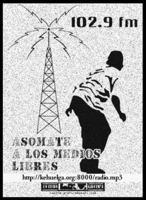 RADIO LIBRE Y SOCIAL 102.9 FM. KÉ-HUELGA